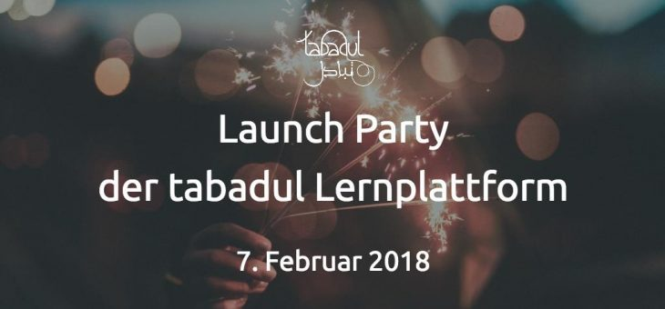 Launch-Party der tabadul Lernplattform